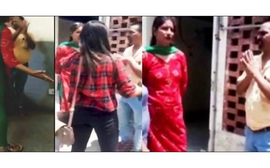 کالج کی 4 لڑکیاں اور ایک پروفیسر ، بھارت سے ویڈیو سامنے آگئی، جب حقیقت کھلی تو ہرکسی کے گال شرم سے لال ہوگئے