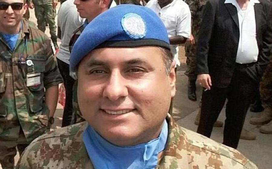 شہید کرنل سہیل عابد کی نماز جنازہ ادا ،آرمی چیف کی شرکت :آئی ایس پی آر