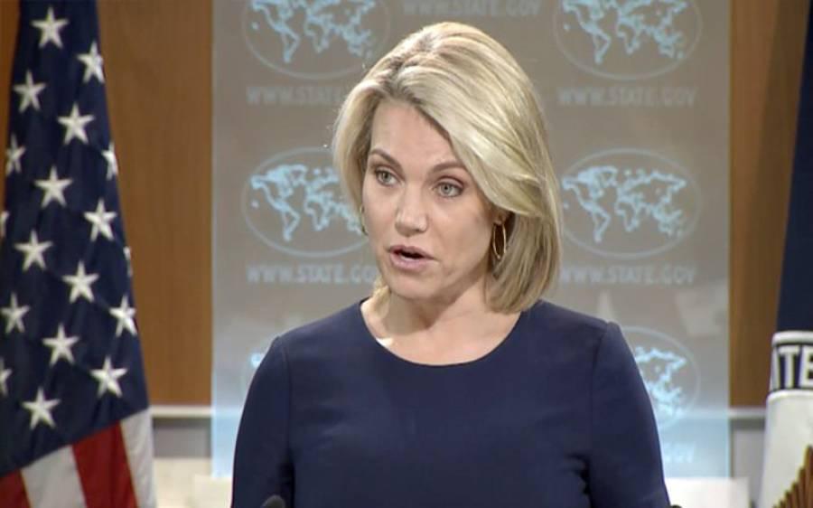 پاکستان میں شفاف انتخابات کے ذریعے پر امن انتقال اقتدار کی توقع رکھتے ہیں: امریکہ