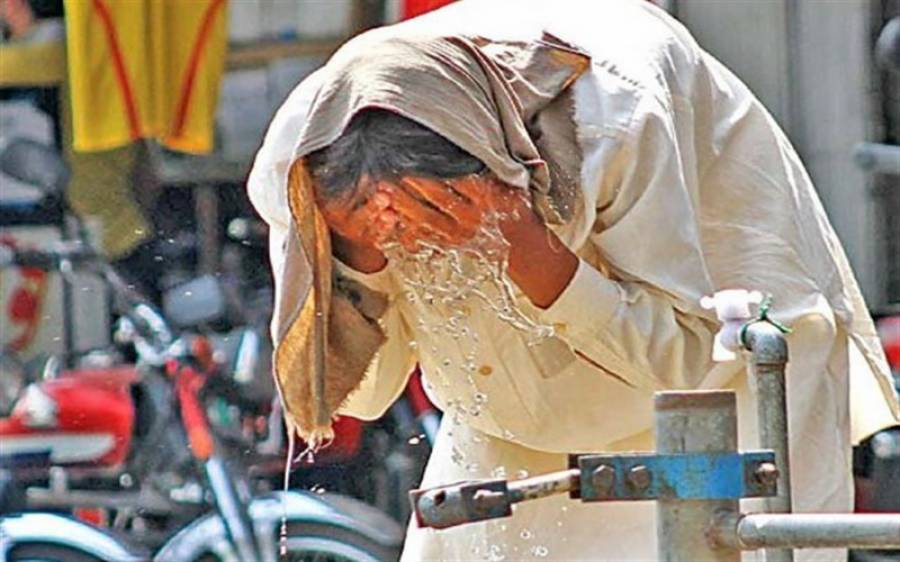 کراچی میں سال کا گرم ترین دن، پارہ 45 ڈگری تک جا پہنچا