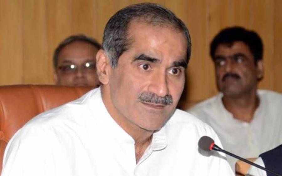پی ٹی آئی کی جانب سے نگران وزیر اعلی کا نام واپس لینا اعلی درجے کی جہالت ہے:سعد رفیق