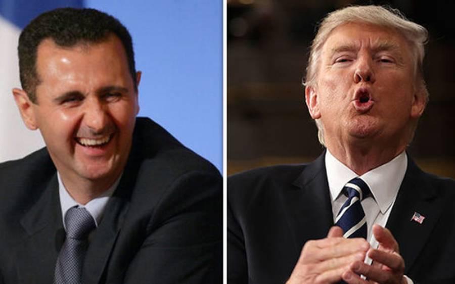 امریکی صدر ٹرمپ نے بشارالاسد کو جانور کہہ کر مخاطب کیا تو آگے سے انہوں نے کیا جواب دے دیا؟ جان کر آپ کی بھی ہنسی نہ رکے گی