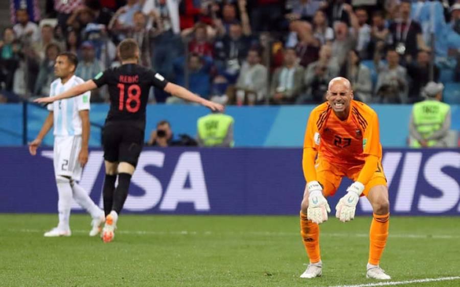 فیفا ورلڈ کپ 2018، کروشیا نے ارجنٹائن کو 0-3 سے شکست دیدی