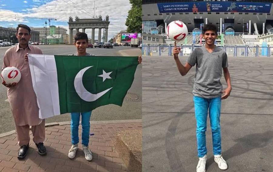 فیفا ورلڈکپ میں بالآخر پاکستان کی نمائندگی بھی ہو گئی، احمد رضا آج برازیل اور کوسٹاریکا کے میچ میں کیا کریں گے؟ پاکستانیوں کیلئے خوشخبری آ گئی