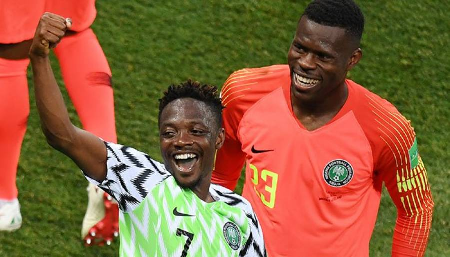 فیفا ورلڈ کپ ،موسیٰ کے دو گولز نے نائیجریا کو فتح دلادی