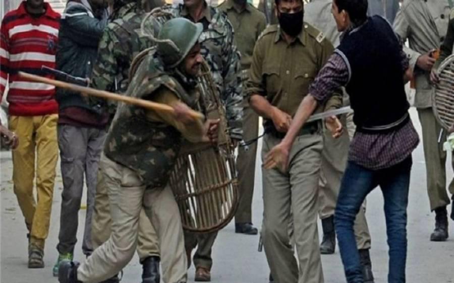 مقبوضہ کشمیر میں بھارتی فوجیوں کی جارحیت اور ظالمانہ کارروائیاں جاری، پانچ افراد شہید ٗ خاتون سمیت درجنوں زخمی