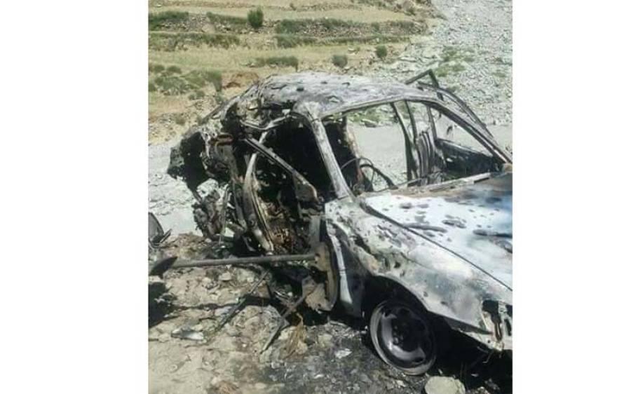 کالعدم تحریک طالبان کے امیر ملا فضل اللہ پر ڈرون حملے کی مبینہ ویڈیو سامنے آ گئی