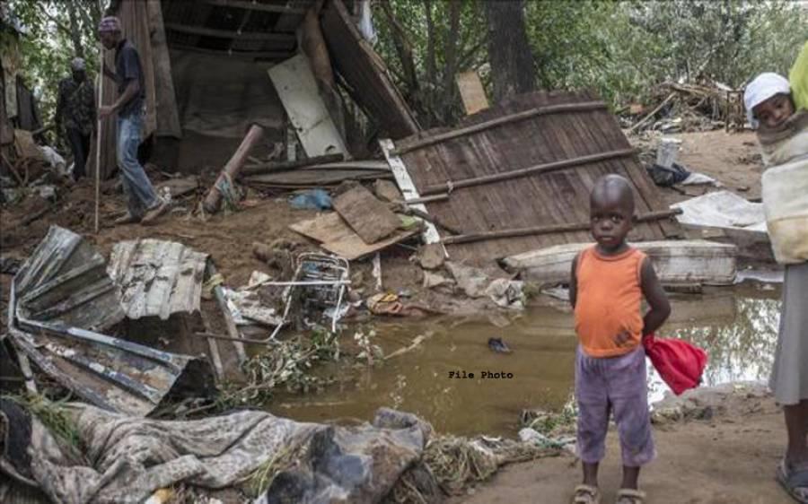 گھانا،شدید بارشیں، 12 افراد ہلاک متعدد لاپتہ