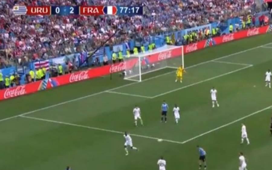 پہلے کوارٹر فائنل میں فرانس نے یوروگوائے کو 0-2سے شکست دے دی