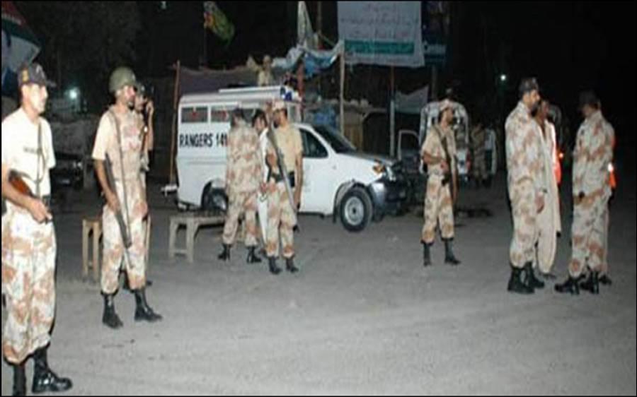 سندھ رینجرزاوراے وی سی سی کی گلشن معمار میں کارروائی ،زخمی دہشتگرد ہسپتال میں دم توڑگیا