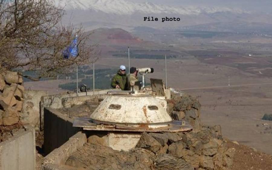 اسرائیل کا سرحد پار شامی فوجی پوسٹوں پر حملہ