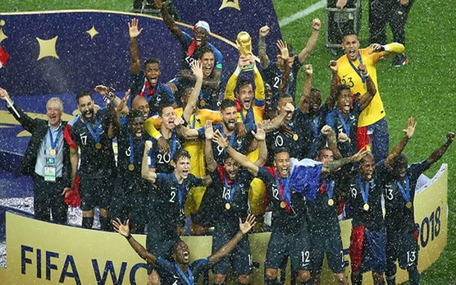 فرانس فٹبال ورلڈ کپ2018 کا عالمی چیمپئن بن گیا