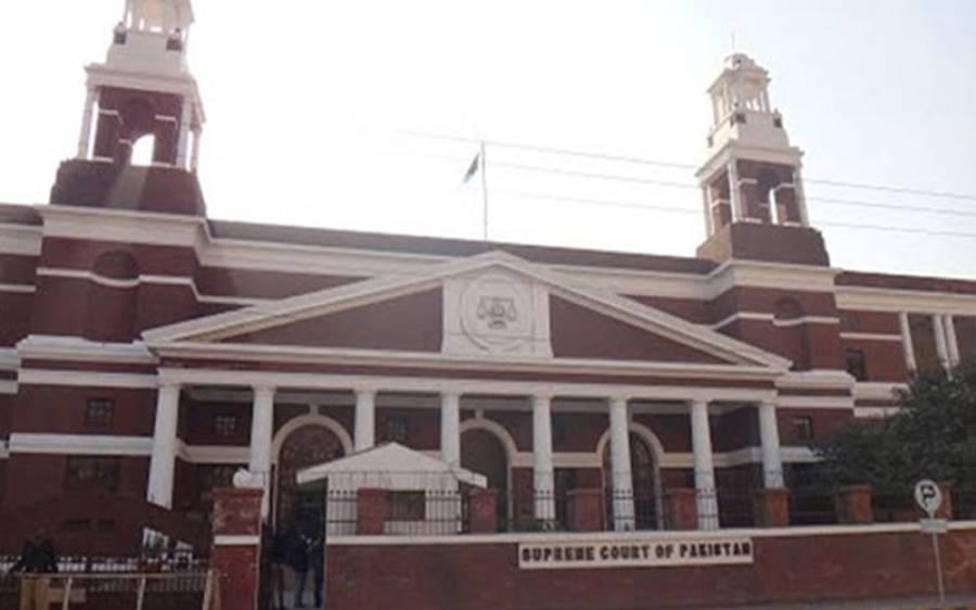 چیف جسٹس میاں ثاقب نثارسپریم کورٹ لاہور رجسٹری پہنچ گئے