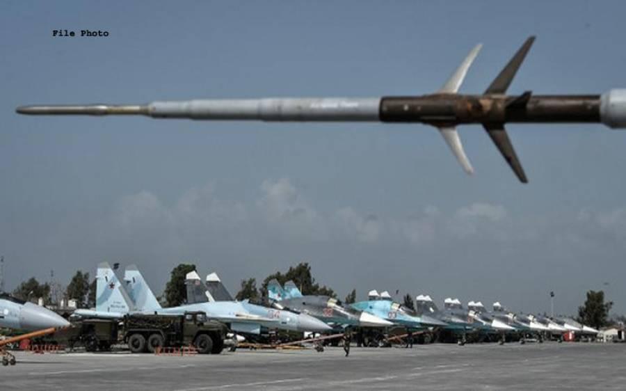 روس کا شام میں فوجی اڈے پرحملہ آور 2 ڈرون مار گرانے کا دعویٰ