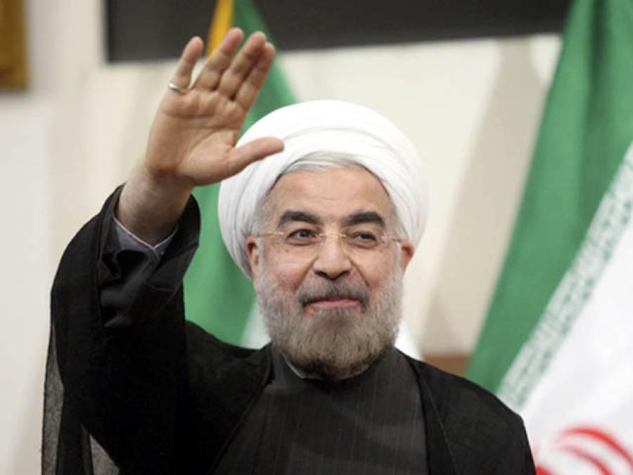 امریکی پابندیوں کا مقصد ایرانی نظام کا سقوط اور ایران کو ٹکڑوں میں تقسیم کرنا ہے:روحانی