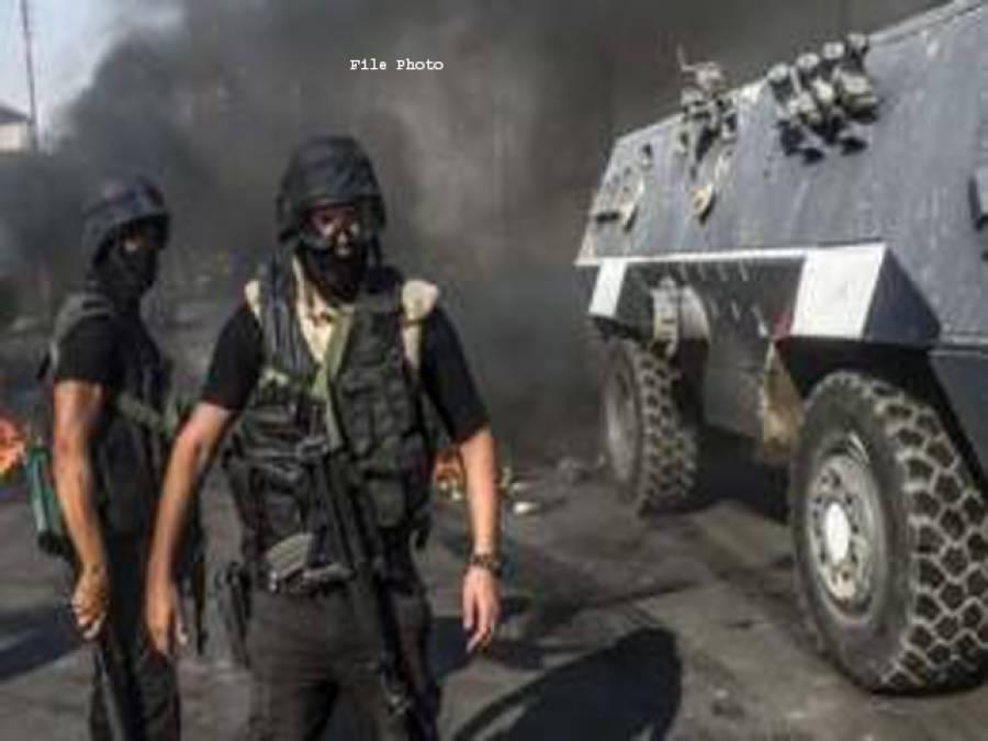 مصر، سیکیورٹی فورسز کی کارروائی ، 5مشتبہ عسکریت پسند ہلاک