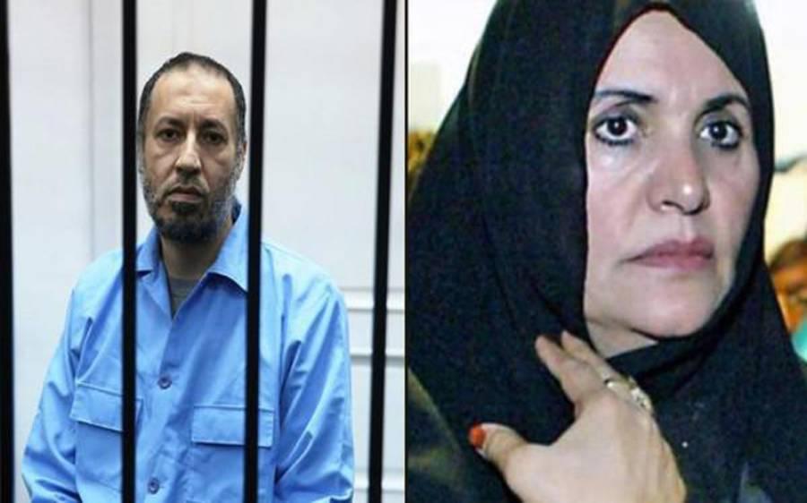 بیٹے کی رہائی میں ٹال مٹول پرقذافی کی بیوہ کی اقوام متحدہ میں شکایت