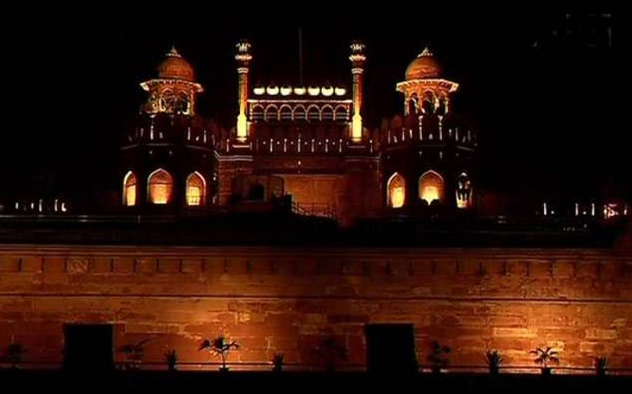بھارت، یومِ آزادی پر لال قلعہ پہلی بار جگمگائے گا