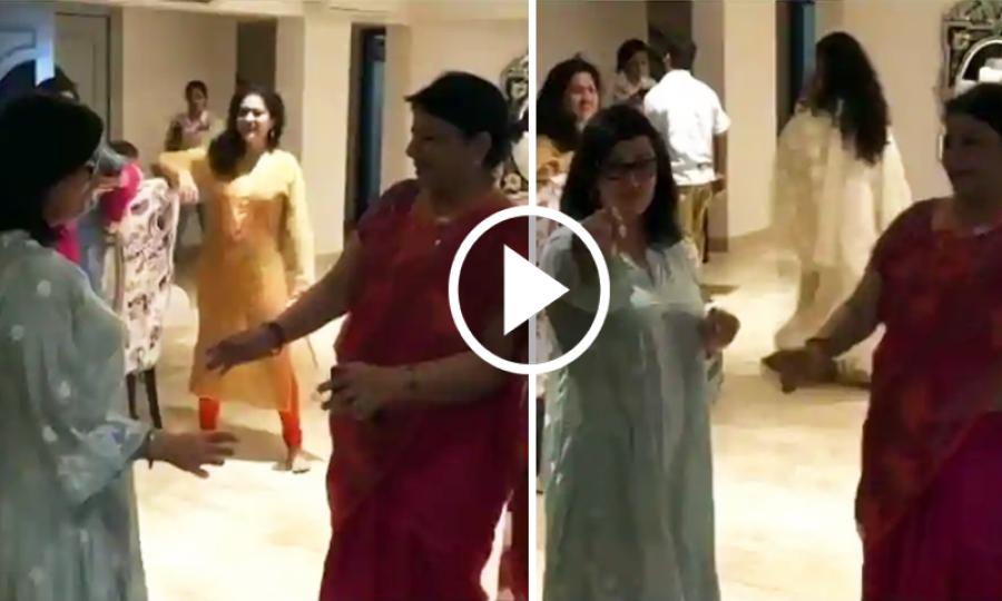 پریانکا اور نِک جونس کی ماؤں کے رقص کی ویڈیو وائرل
