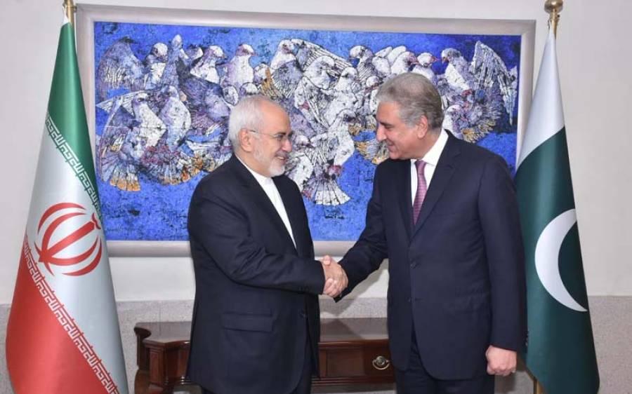 ایٹمی معاہدے پر تہران کے اصولی موقف کی حمایت کرتے ہیں، شاہ محمود قریشی اورجواد ظریف کی ملاقات کا اعلامیہ جاری