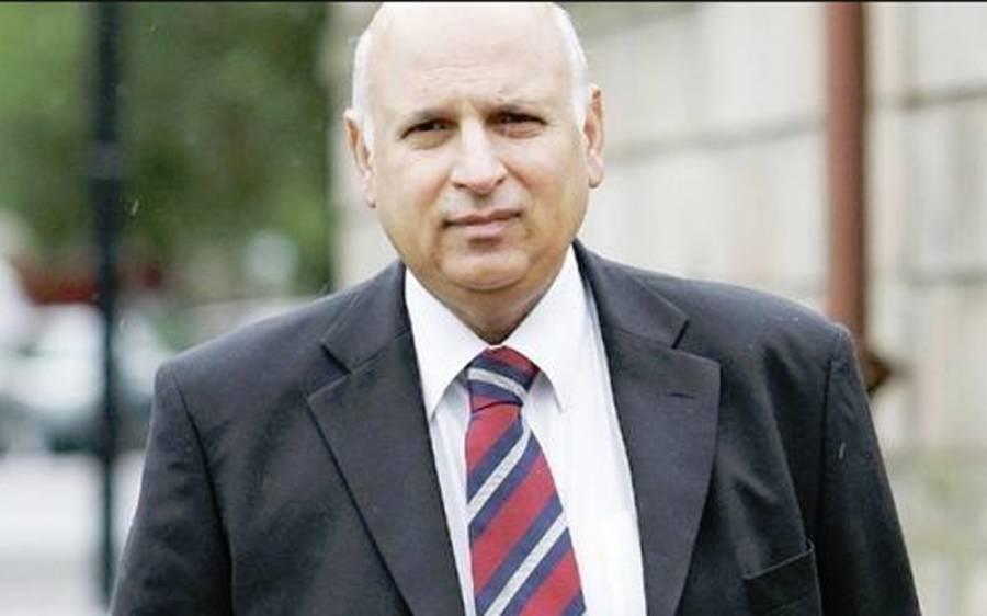 صدارتی امیدوارلانا اپوزیشن کاحق ،4 ستمبر کو عارف علوی صدر پاکستان ہوں گے:چوہدری سرور