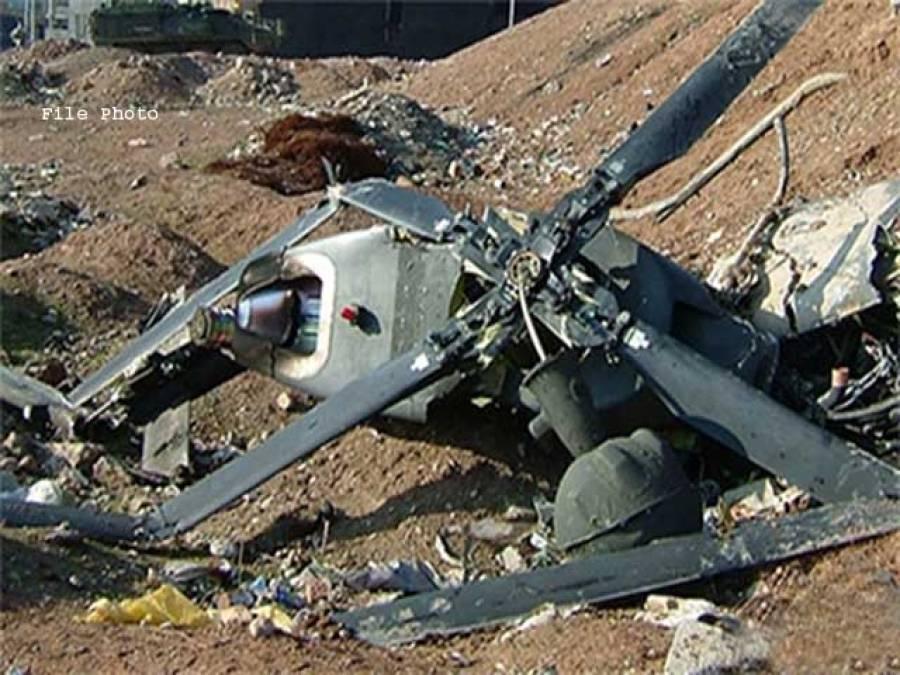 بھارت، ریاست تامل ناڈو میں فوجی ہیلی کاپٹر گر کر تباہ
