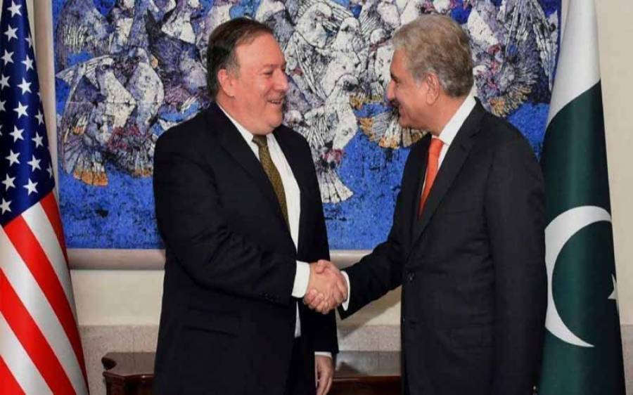 وزیر خارجہ شاہ محمود قریشی آج امریکی ہم منصب مائیک پومپیو سے ملاقات کریں گے