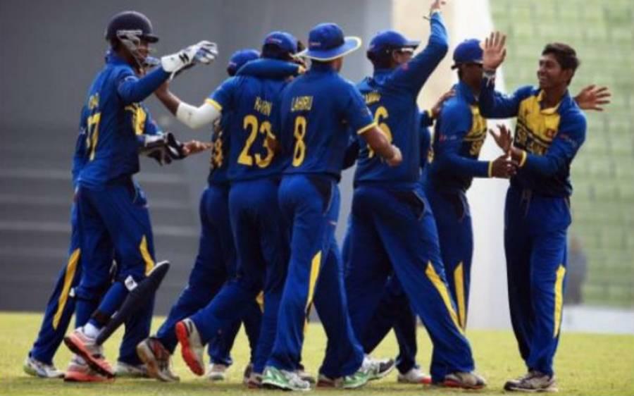 انڈر 19 ایشیا کپ : سری لنکا کے ہاتھوں شکست سے پاکستان سیمی فائنل کی دوڑ سے باہر