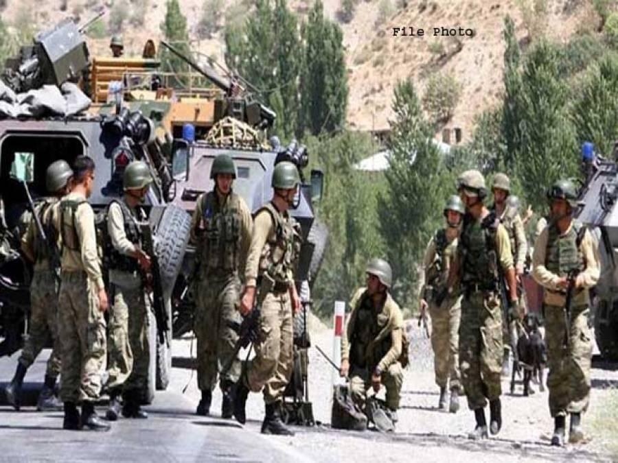 شام میں مشترکہ گشت کے لیے امر یکا کی ترک فوجیوں کو تربیت