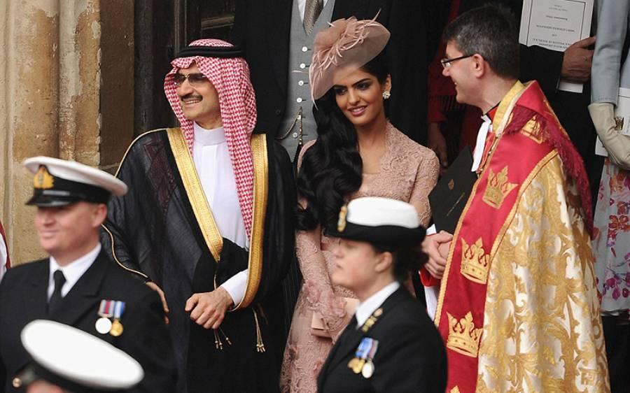 شادی سے 2 روز قبل اس سعودی شہزادی کے 10 کروڑ روپے کے زیورات چوری ہوگئے، یہ شہزادی دراصل کون ہے اور شہزادہ ولید بن طلال سے کیا تعلق ہے؟ تفصیلات منظر عام پر