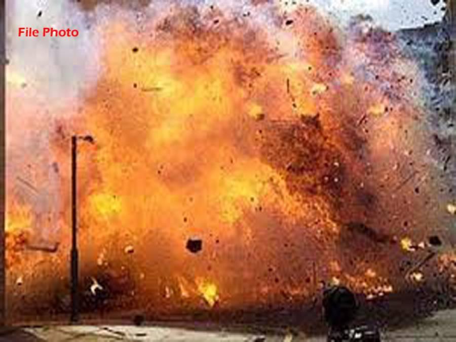 پاکستان کے بڑے شہر میں دھماکہ