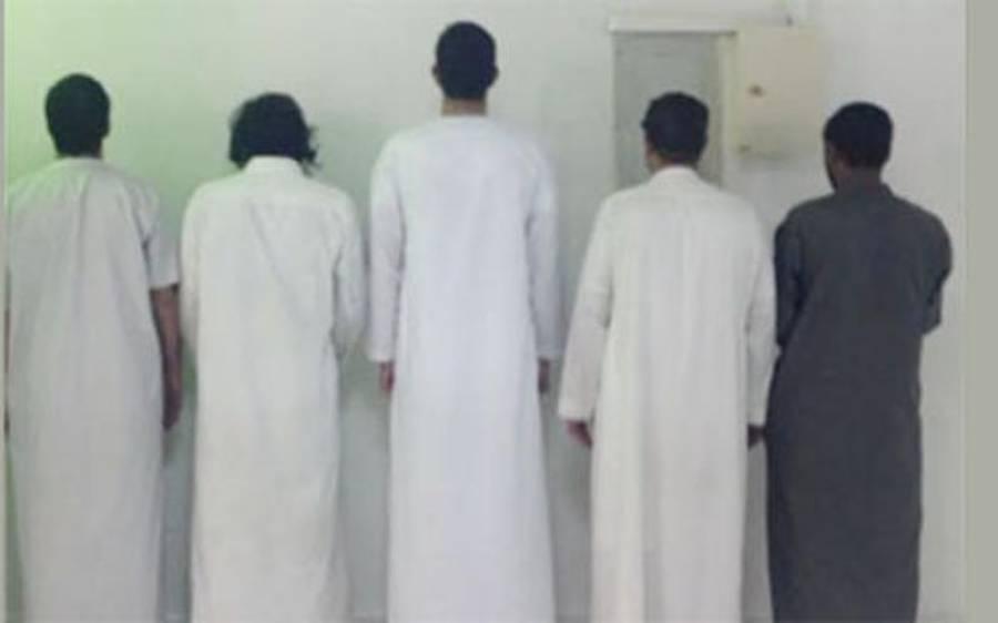 سعودی عرب، کار چور اور جعلی کرنسی پھیلانے والا گروہ گرفتار