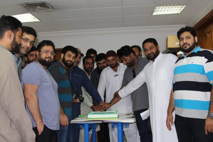 یوتھ ونگ اسلامک ایجوکیشن کمیٹی کویت کے تحت پانچویں سالانہ ٹیپ بال کرکٹ ٹورنامنٹ 2018 کی افتتاحی تقریب