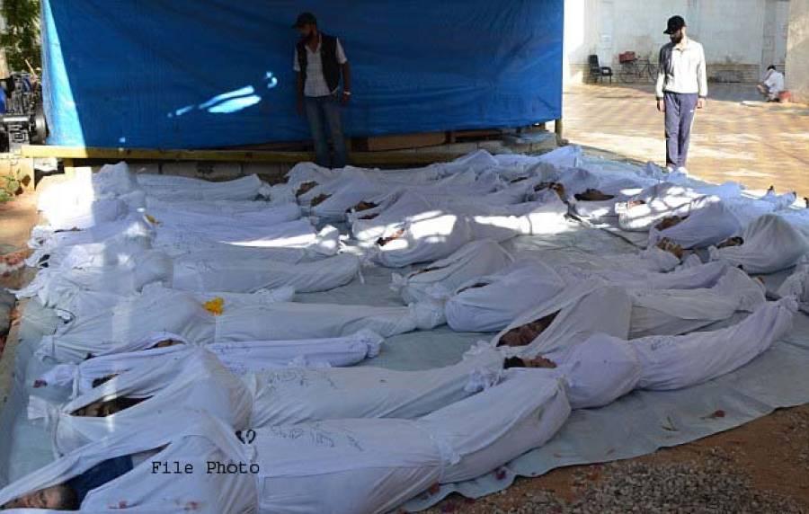 شام میں امریکی اتحاد کے حملے، 7بچوں سمیت 32 شہری ہلاک،کئی زخمی