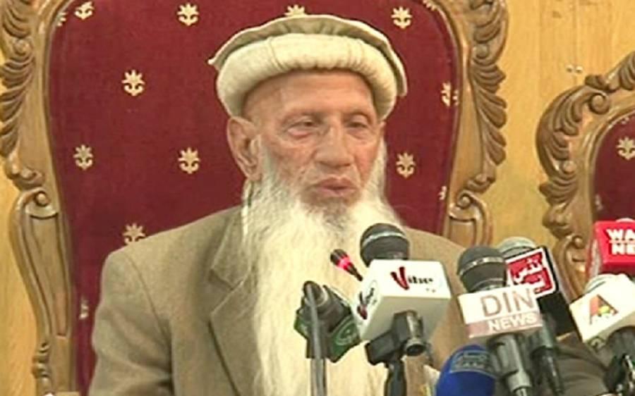 قائدتحریک صوبہ ہزارہ باباحیدرزمان انتقال کرگئے