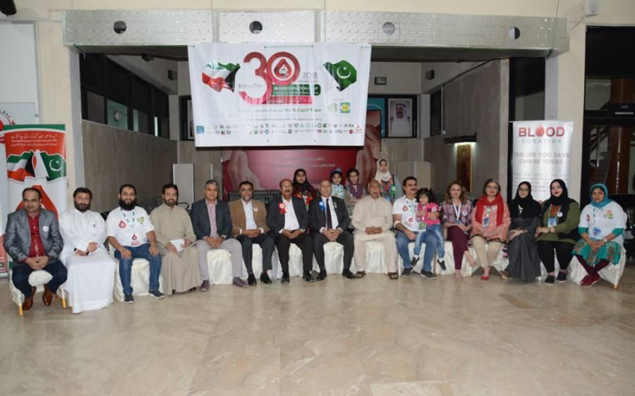 کویت پاکستان بلڈ ڈونرز تنظیم کی جانب سے بلڈ ڈونیشن کیمپ کا انعقاد