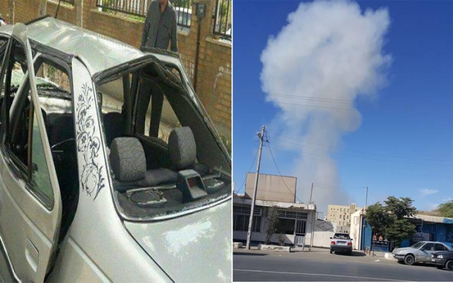 ایران: چاہ بہار میں کار بم دھماکہ، ضلعی پولیس چیف سمیت 3 افراد ہلاک ، 19 زخمی