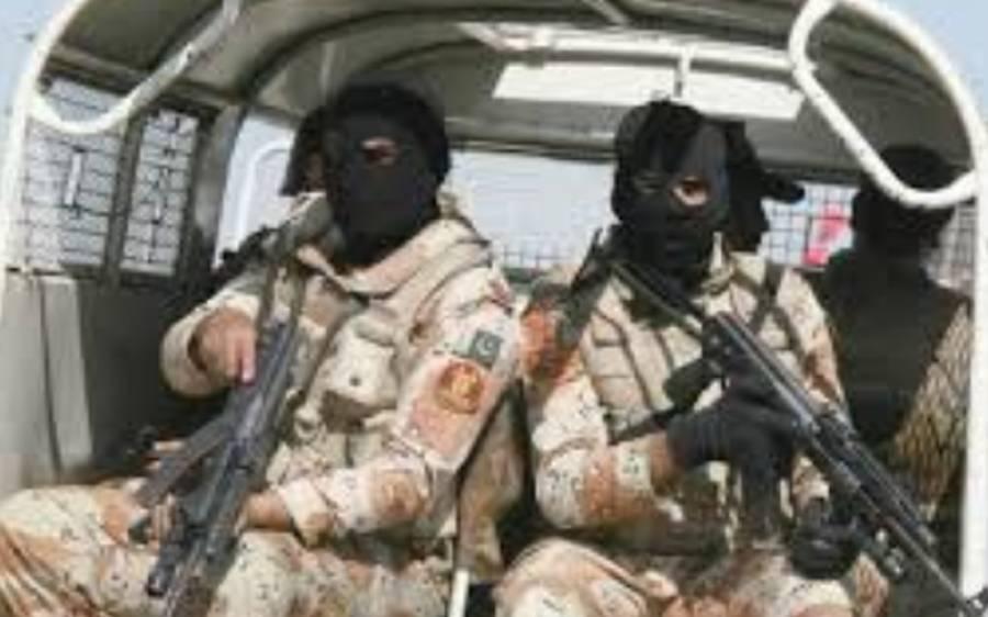 پنجاب رینجرز کی کارروائی ، ایک دہشتگرد ہلاک دوسرا زخمی ،فائرنگ کے تبادلے میں کرنل ایوب اور سپاہی ریحان زخمی ہوگئے