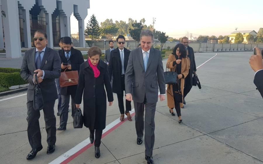 وزیر خارجہ شاہ محمود قریشی کی افغانستان اور چین کے وزراءخارجہ سے غیر رسمی ملاقات،افغان مفاہمتی عمل پر تبادلہ خیال