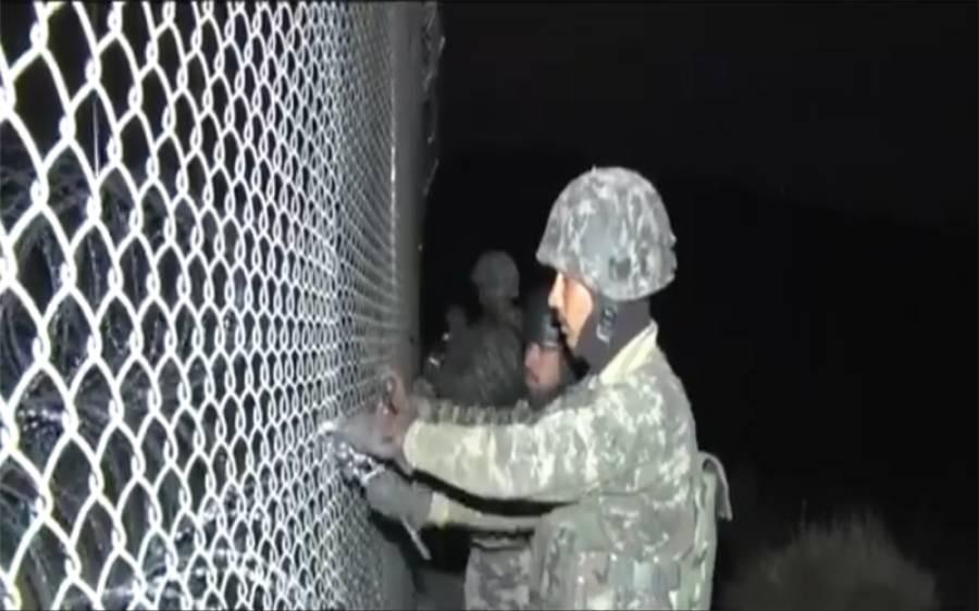 پاک افغان سرحد، 233 قلعے تعمیر، 802 کلومیٹر باڑ لگادی گئی: آئی ایس پی آر