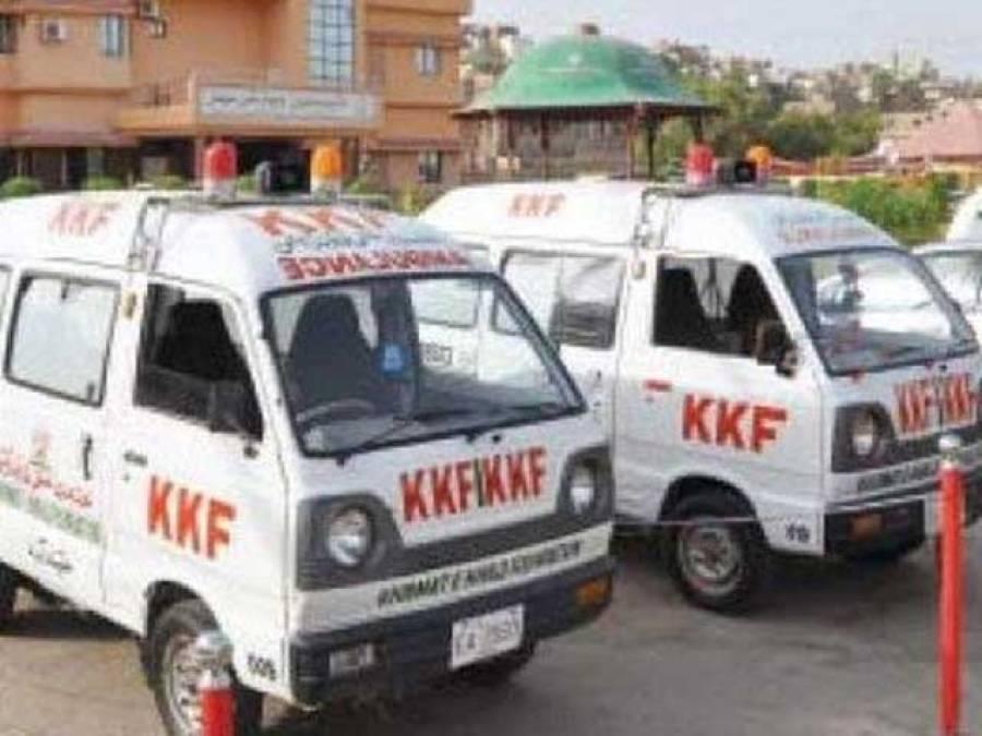 خدمت خلق فاؤنڈیشن کی ایمبولینس سروس بند
