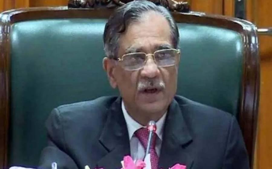 چیف جسٹس ثاقب نثار نے وزیراعلیٰ سندھ مراد علی شاہ کیلئے سب سے بڑا اور دبنگ حکم جاری کر دیا ، ہر کوئی عش عش کر اٹھا