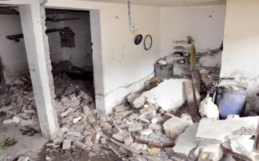 راولپنڈی میں گھر میں گیس دھماکا،خاتون سمیت 3 افراد زخمی