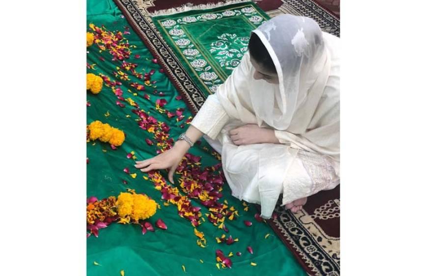نوازشریف کی اہلیہ کلثوم نواز کی قبر کی تصاویر پہلی مرتبہ منظر عام پر آ گئیں ، مریم نواز وہاں کیا کر رہی ہیں ؟ جانئے