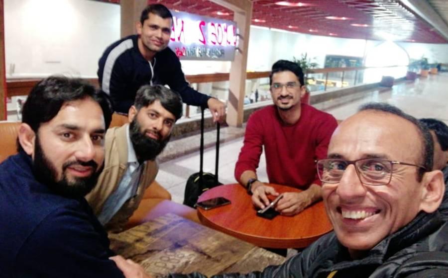 پی ایس ایل میں شرکت کیلئے پشاور زلمی کے کرکٹرز کی دبئی روانگی شروع