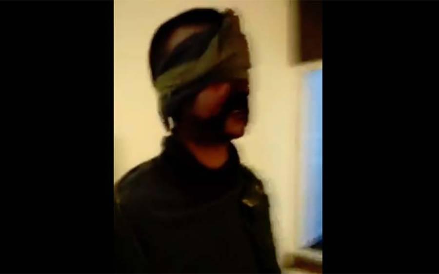 پاک فضائیہ کی طرف سے گرائے گئے بھارتی طیارے کے گرفتار پائلٹ کی ویڈیو اور تصویر سامنے آگئی