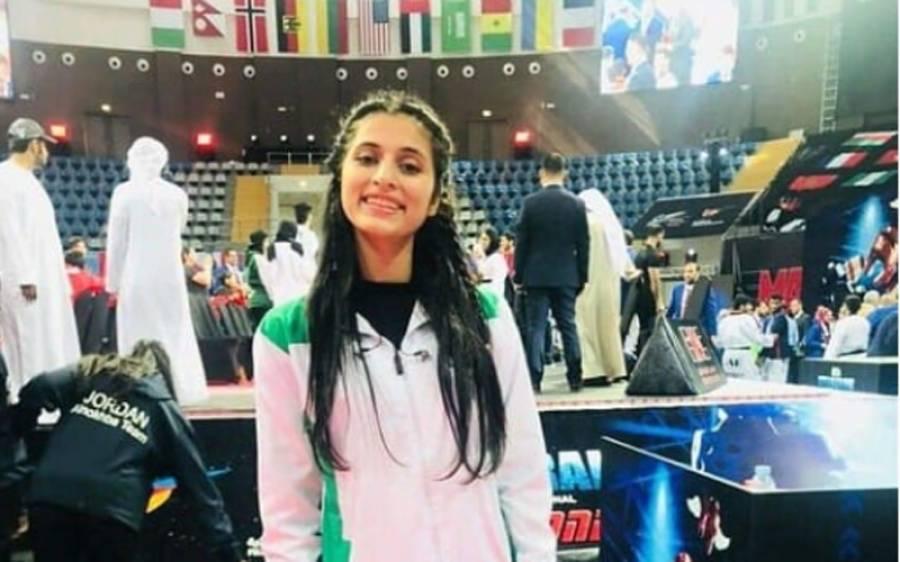 19 گولڈ میڈل جیتنے والی پاکستانی کھلاڑی نقش ہمدانی کی سپانسر نہ ملنے کے باعث ورلڈ تائیکوانڈو چیمپیئن شپ میں شرکت مشکوک