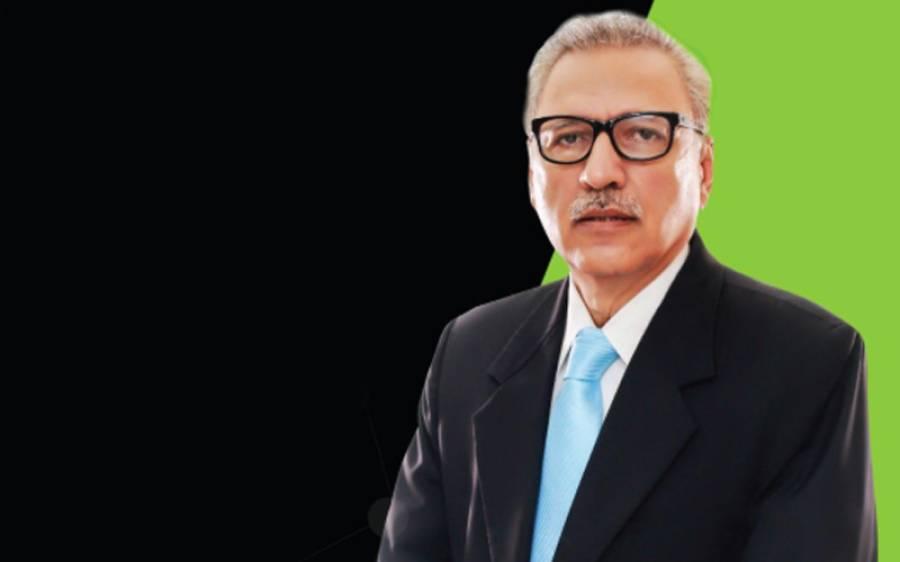 بھارت سے جنگ کا خطرہ اب بھی موجود ہے،جنگ مسلط کی گئی تو بھرپور دفاع کریں گے:صدر مملکت ڈاکٹر عارف علوی