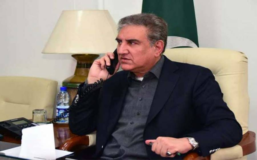 """""""پاکستان نے یہ بہت قابل تحسین کا م کیا ہے """"جاپان کے وزیر خارجہ کا شاہ محمود قریشی سے ٹیلیفونک رابطہ"""
