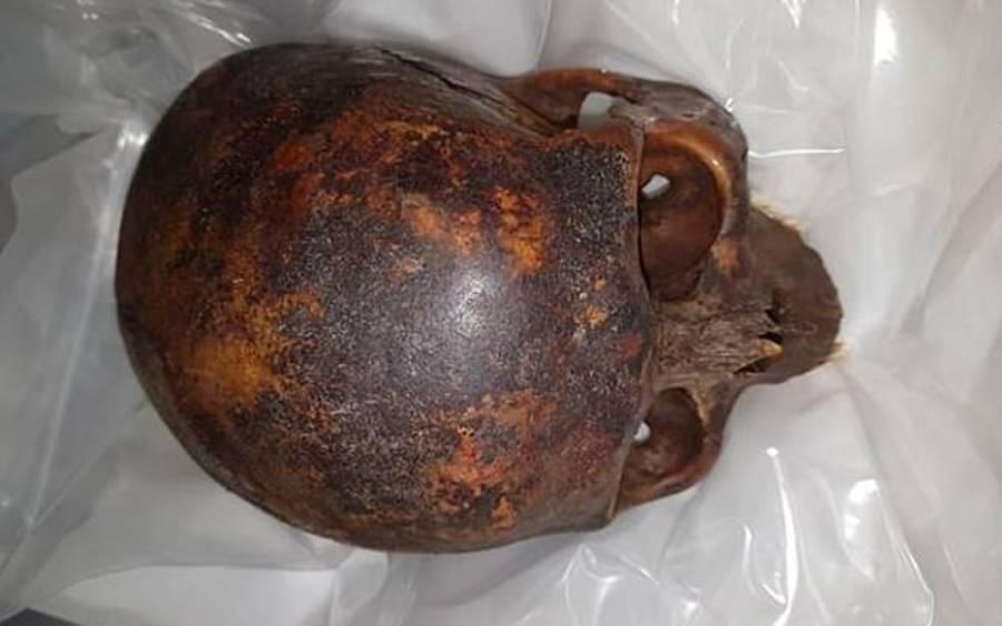 800 سال پرانی چوری ہونے والی کھوپڑی بالآخر مل گئی